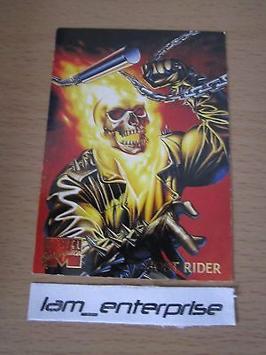 Marvel Masterpieces 1995 Ghost Rider Base Card #38 Mint Condition