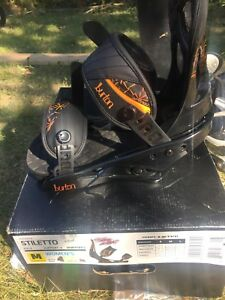 Brand new Burton Stiletto Bindings