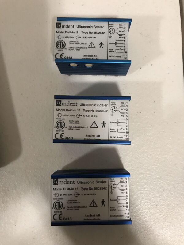 Amdent Ultrasonic Dental Scaler Power Supply Type 5602642 Free Shipping.