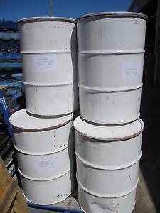 Empty 200 litre steel Open Head drums Samson Fremantle Area Preview