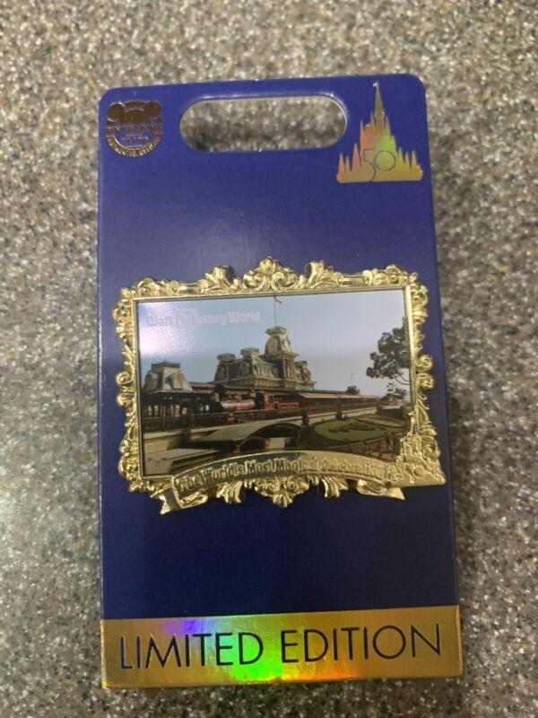 Walt Disney World 50th Anniversary Countdown Series Magic Kingdom Pin