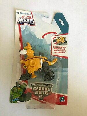 Hasbro Playskool Heroes Transformers Rescue Bots Servo Dog