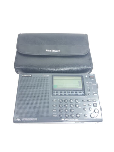 Radioshack DX-398 Synthesized Receiver Shortwave Radio Fm st