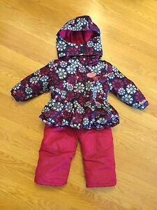 Girls size 3 snowsuit