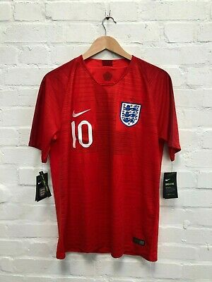 Nike England Football Men's 2018/19 Away Shirt - Medium - Williams 10 - Red -NWD
