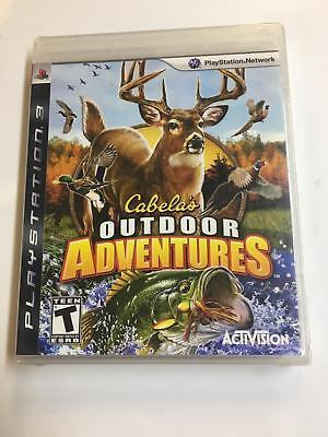 Usado, CABELA'S Outdoor Adventures SEALED NEW PlayStation 3 PS3 2009 Shooter Action comprar usado  Enviando para Brazil