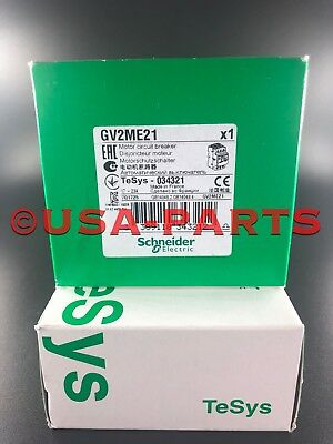 Gv2me21 Square D Motor Starter Gv2me21 New In Box Authenticsealed