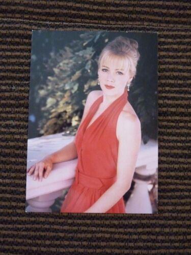 Jennie Garth Beverly Hills 90210 Postcard Fan Club PRINTED SIGNATURE #1