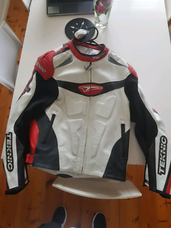 Motorbike Teknic leather jacket