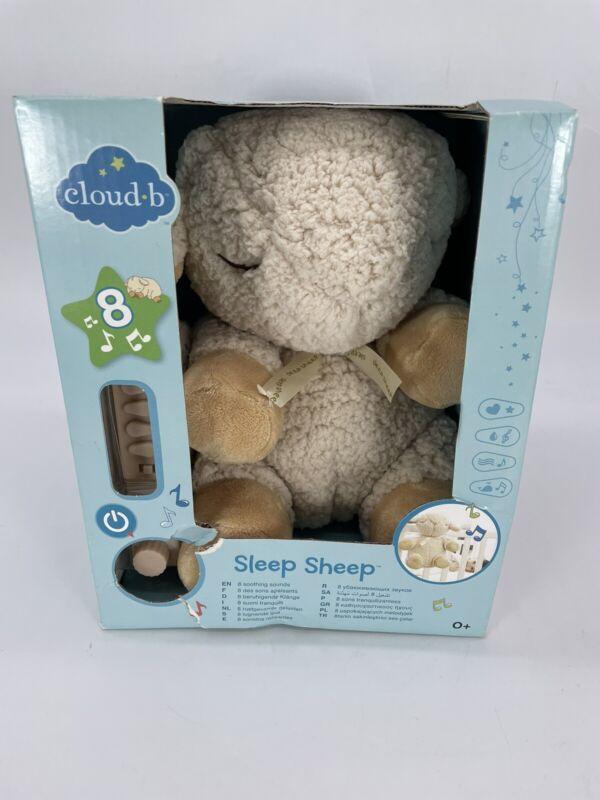 Cloud b Sleep Sheep Where Good Sleep Begins sleep Plush Toy New