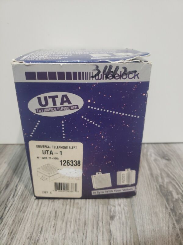 Wheelock Universal Alert Uta-1 Universal Tel Alert (uta1)