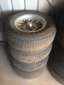 Glx factory wheels valiant Vh vj vk Cl cm charger pacer 265 v8 Wondai South Burnett Area Preview