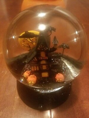 Halloween Haunted House Themed Snow Globe  - Snow Theme Decorations