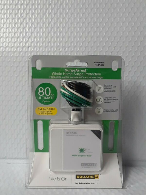 Square D HEPD80 Home Electronics Protective Device #8729