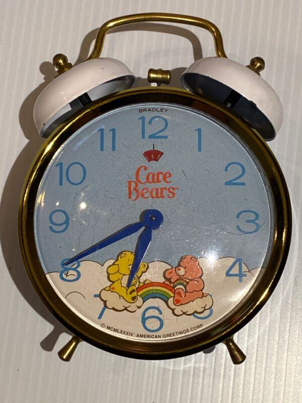 "Vintage Collectible 1984 Bradley ""Care Bears"" Alarm Clock"