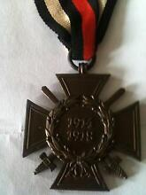 Medal 1914 to 1918 Germany Ashmore Gold Coast City Preview