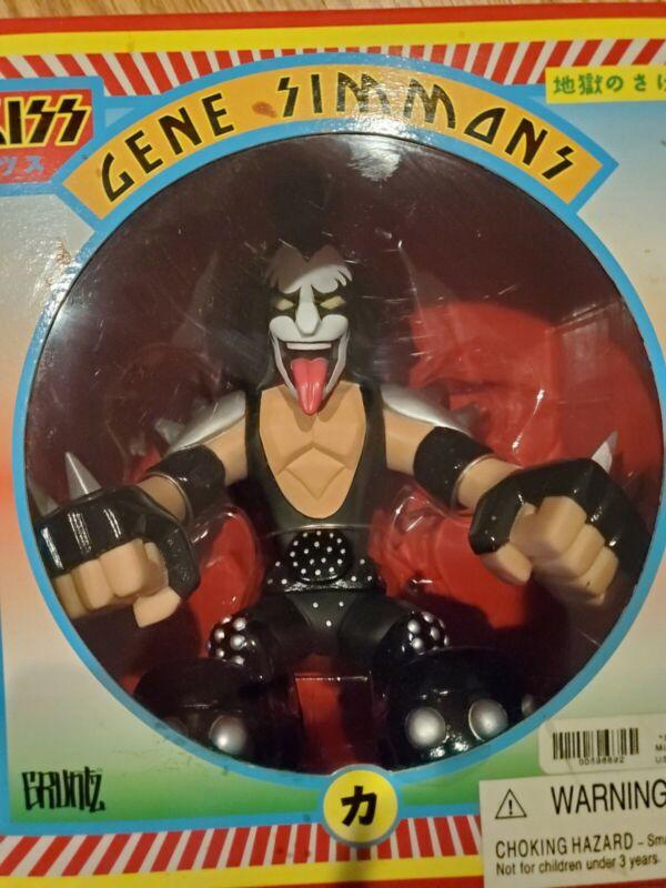 KISS Gruntz Figure Gene Simmons 2002  New in Box