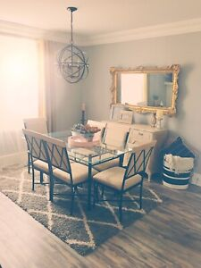 Dinning set (table and chairs)