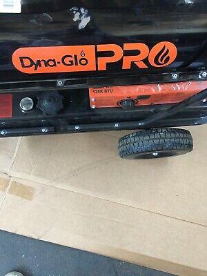 Dyna-Glo Pro 135K BTU Forced-Air Kerosene Portable Heater Model KFA135H Btu Forced Air Kerosene Heater