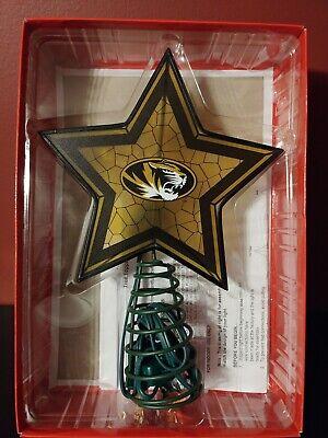 Missouri Mizzou Tigers Mosaic Tree Topper Christmas ()