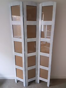 Sprayed White Photo Room Divider Screen Decorative Carrum Downs Frankston Area Preview