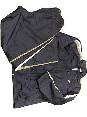 Warm Up Suits (Mens Nike Nylon Warm Up Wind Breaker Suit Sz Lg Pants &)