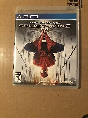 PS3 The Amazing Spider-Man 2 video game Factory Sealed