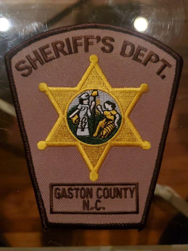 Gaston County NC Sheriff Patch