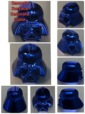 LEGO DARTH VADER HELMET CHROME DARK BLUE GENUINE CUSTOM BEST QUALITY