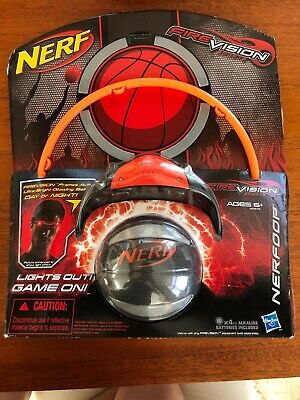 Nerf Fire Vision Sports Nerfoop Basketball Hoop Basketball Glasses
