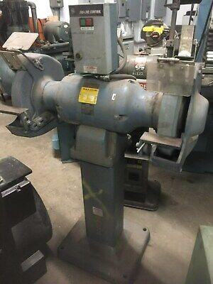 Baldor 14 Industrial Pedastal Grinder Model 1406w 5hp 230v 3 Phase