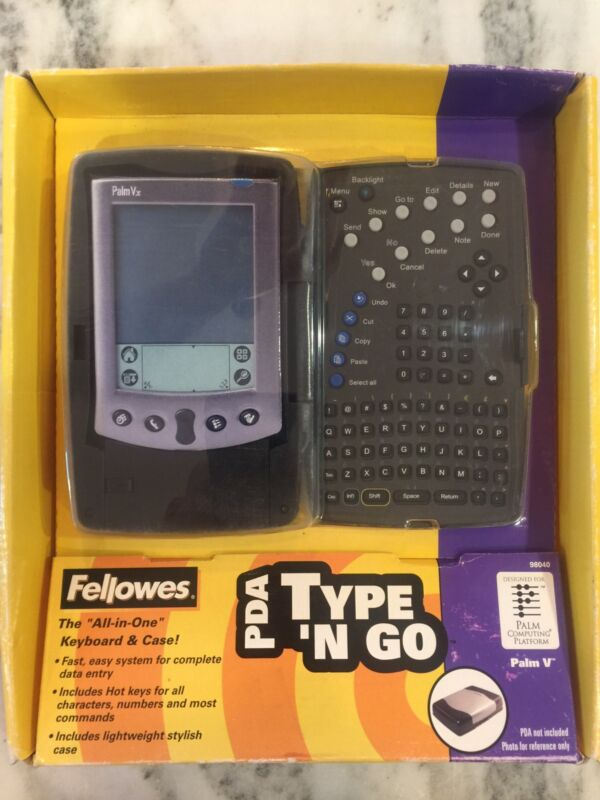 Fellowes Type N Go Keyboard and Bumper Case for Palm V