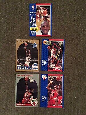 michael jordan cards Fleer #29,211,220 NBA Hoops #5,65