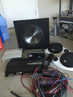 Sub, amps, speakers & head unit Medowie Port Stephens Area Preview
