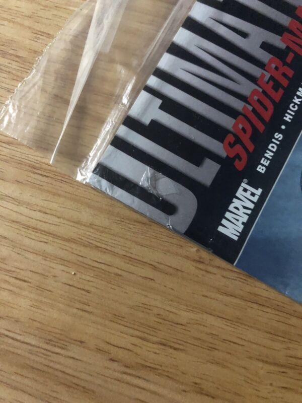 ULTIMATE FALLOUT #4 - 1ST PRINT - SEALED in polybag Miles Morales Small Hole Bag