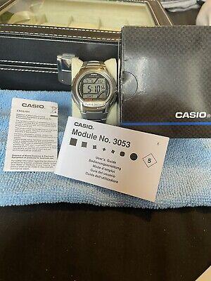 Casio Men's Quartz LCD Dial Digital Display Watch