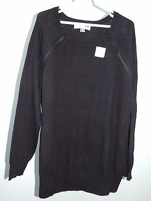 Womens Size XXL * OLD NAVY MATERNITY * Long Sleeved Nursing Sweater NWT T15