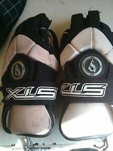 Pair of lacrosse gloves