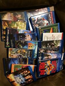 DVDs and BluRays for sale