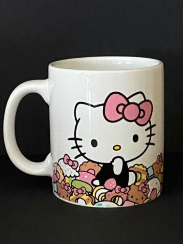 Sanrio~Hello Kitty Cafe Mug~2015 Ceramic~NEW~No Box*