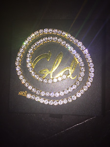 18k Gold Plated Tennis Chain