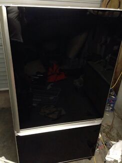 Huge 564L Gloss Black/Chrome Ammana upside down fridge. RRP $3500 Buderim Maroochydore Area Preview