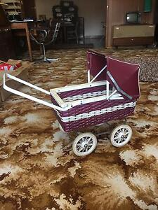 Retro Vintage antique Dolls Pram Stroller West Footscray Maribyrnong Area Preview