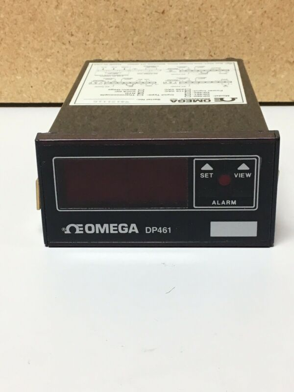 Omega DP461 Panel Thermometer