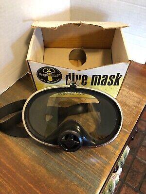 Aqua Lung U.S. Divers Pacific Scuba Dive Mask Tempered Glass 5050-00