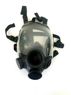 Msa Advantage 1000 Riot Control Full Face Respirator Gas Mask Size Large Lg 2