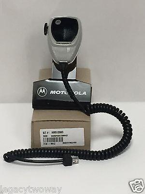 Motorola Compact Microphone Model Hmn1056d Maxtrac Cdm750 Cdm1250 Mcs2000