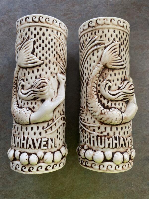 Tiki Rob TikiRob RumHaven Mermaid Siren Tiki Culture Mug Cup Glass 🍹WOW (2)