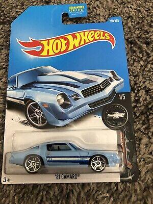 Hot Wheels '81 Camaro #250