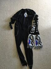 Collingwood football club adult onesie & scarf Rosetta Glenorchy Area Preview